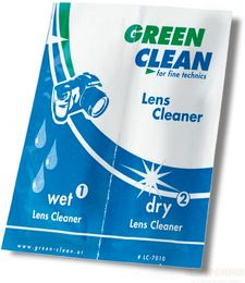 4kpl Green Clean WET + DRY 2-in-1 Lens Cleaner LC-7010