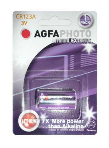 Agfa Photo Lithium CR123A 3V