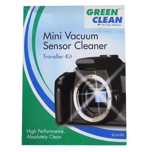 Green Clean Mini Vacuum Sensor Cleaner Traveller-Kit SC-4100
