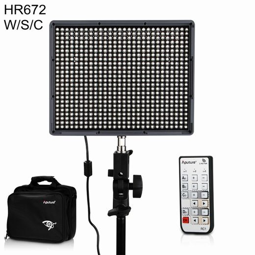 Aputure Amaran HR672C Dual Color LED-paneeli 672 x LED, CRI 95+