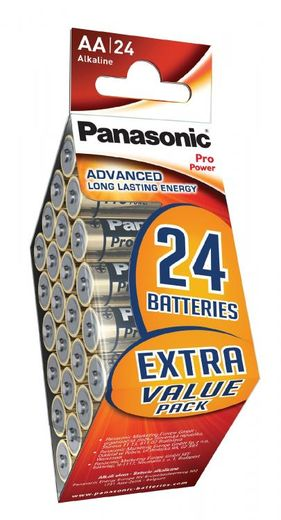 24kpl Panasonic Pro Power AlkalineAA paristo