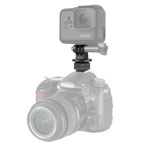 AccPro Tripod Mount GoPro + Hot Shoe mount