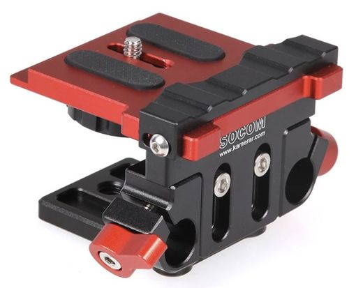 OUTLETMP-2 DUAL ROD CAMERA MOUNTING PLATE