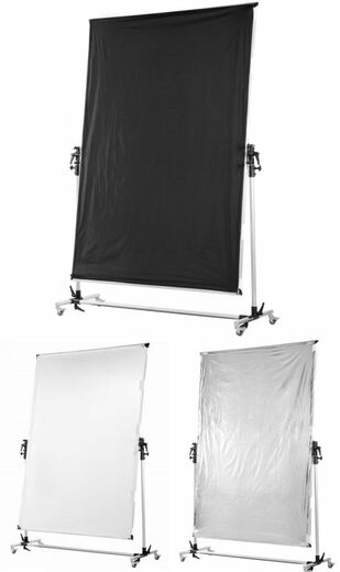 Walimex 3-in-1 Pro Rolling Reflector Panel 150x200cm